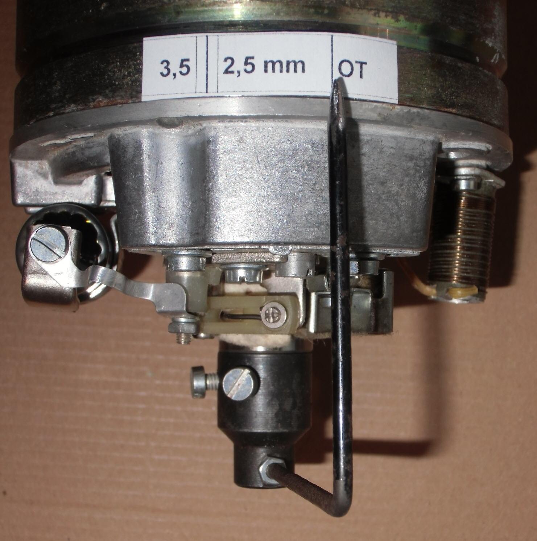 Correspondances de l'avance à l'allumage en degrés et en mm Image184